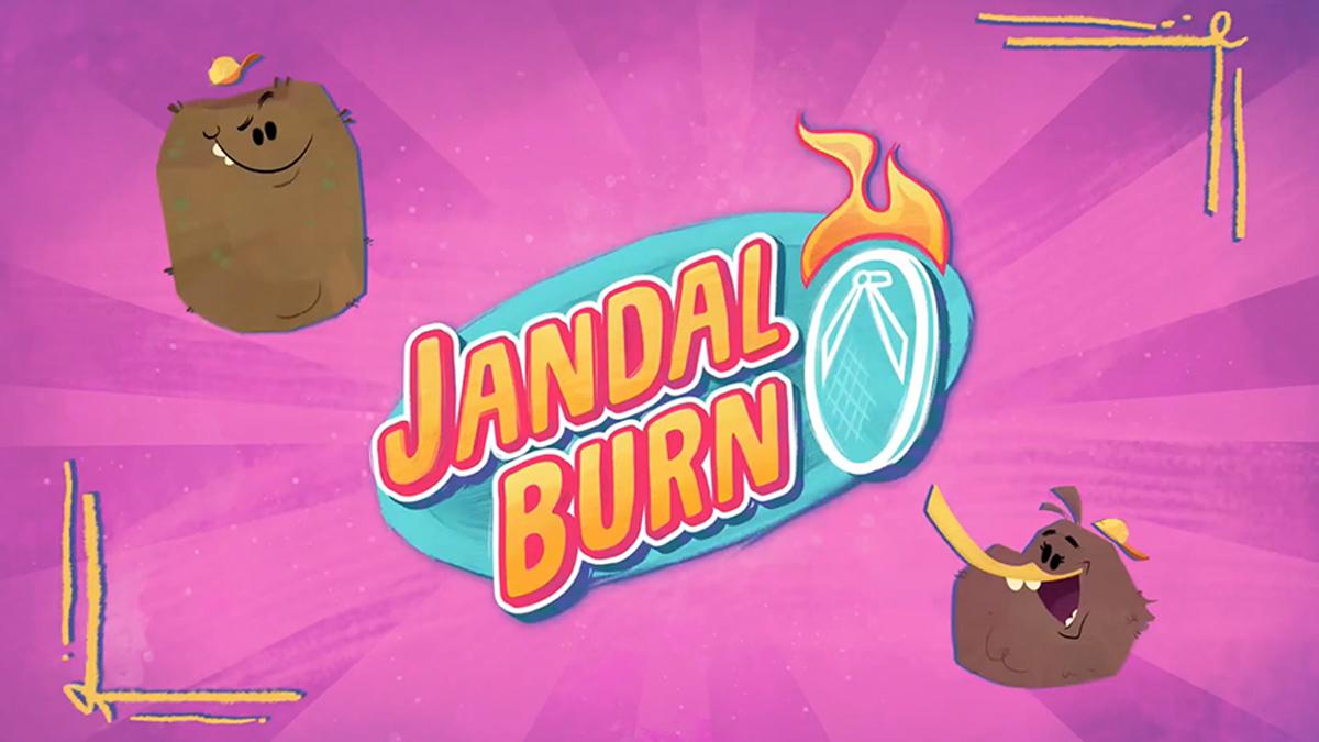 jandal-burn